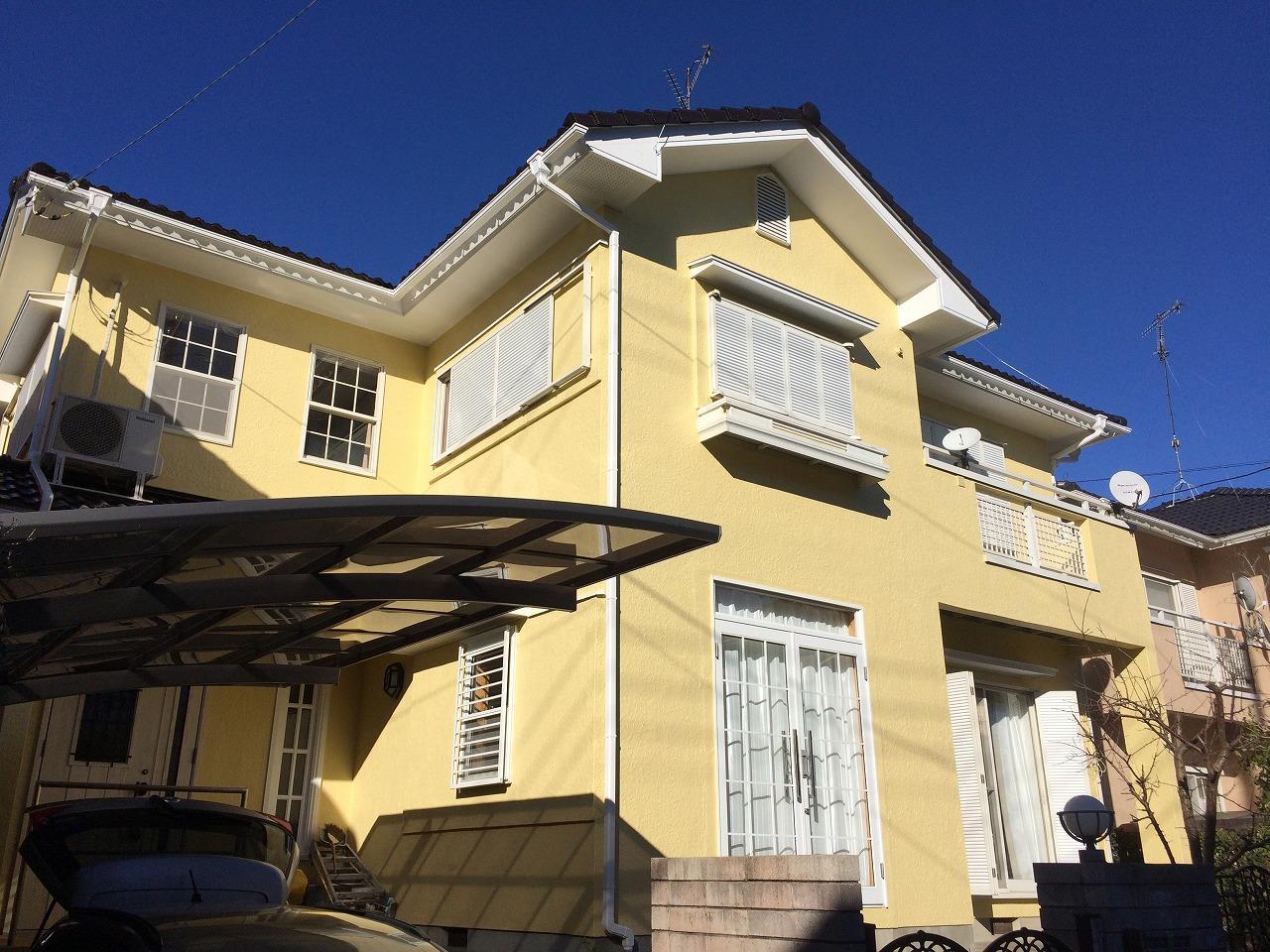 印旛郡栄町N様邸 外壁塗装・屋根塗装