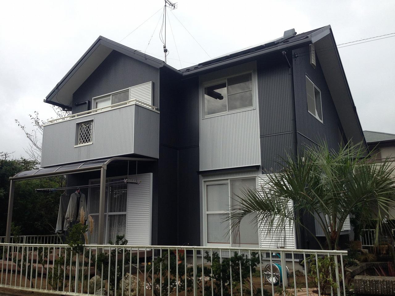 山武市 外壁サイディング交換・屋根葺き替え工事