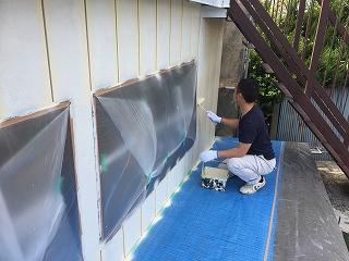 印旛郡栄町、外壁塗装 (14)