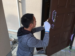 印旛郡栄町、外壁塗装 (12)