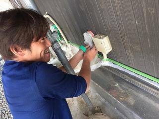 印旛郡、酒々井町、外壁塗装 (10)