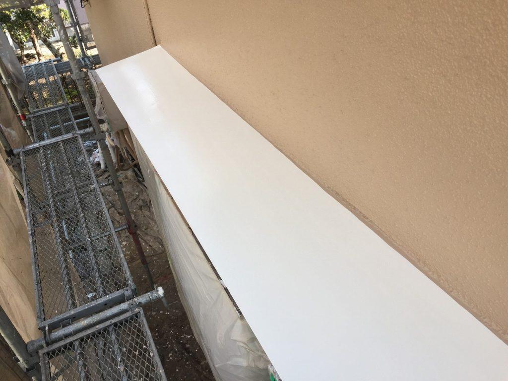 栄町、外壁塗装 (2)