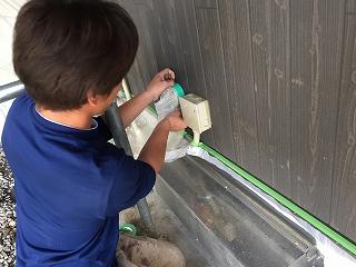 印旛郡、酒々井町、外壁塗装 (11)