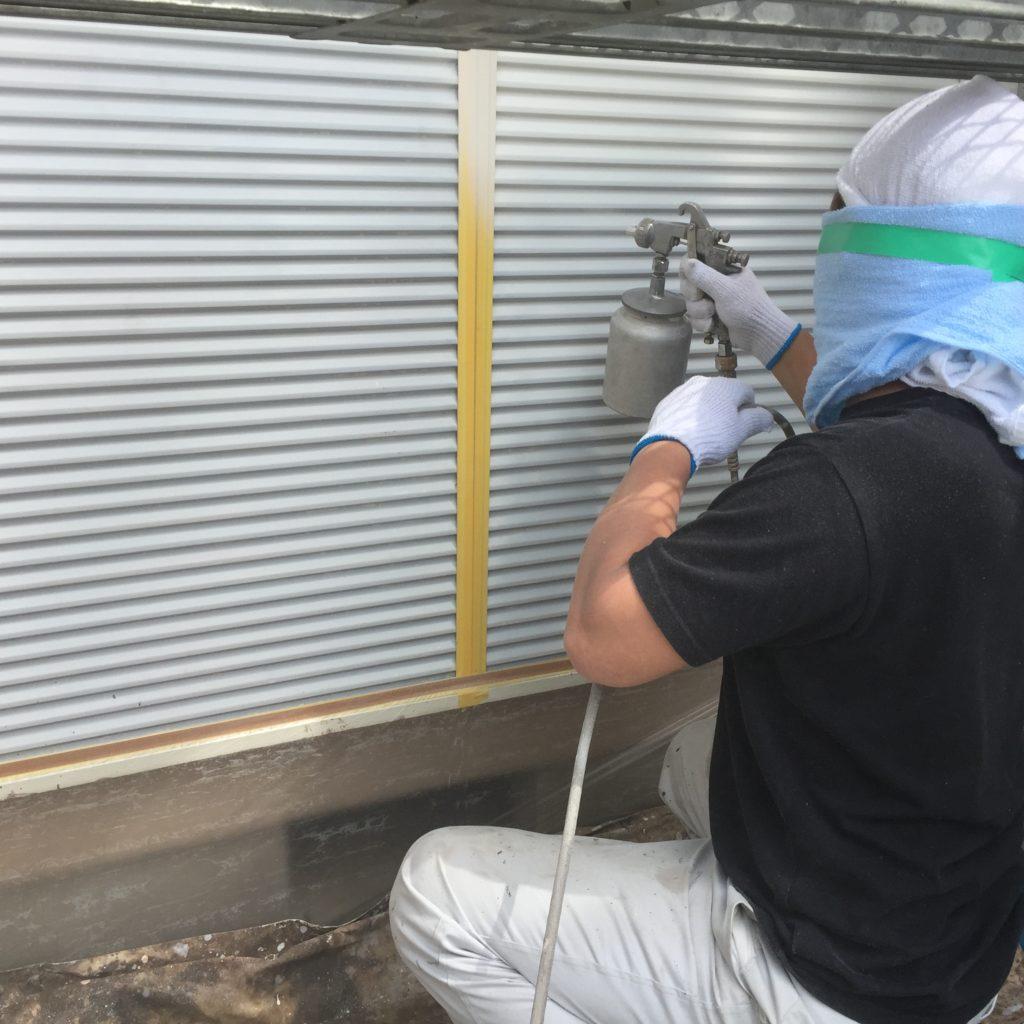 印旛郡栄町、外壁塗装 (17)