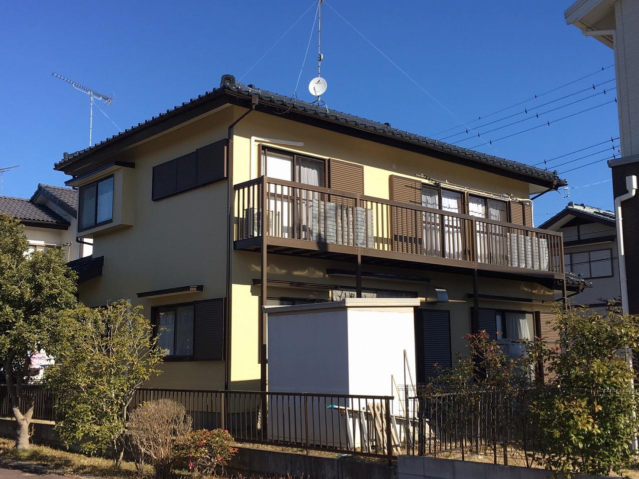 印旛郡栄町I様邸 外壁塗装・屋根塗装工事