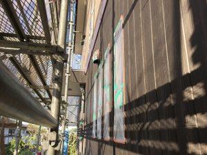 印旛郡、酒々井町、外壁塗装 (12)