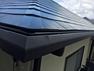印西市、屋根塗装 (8)
