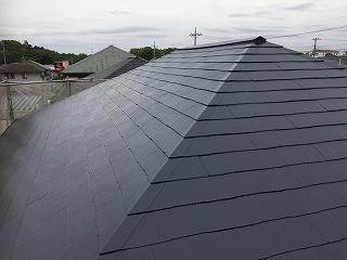 印西市、屋根塗装 (5)