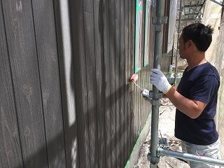 印旛郡、酒々井町、外壁塗装 (25)