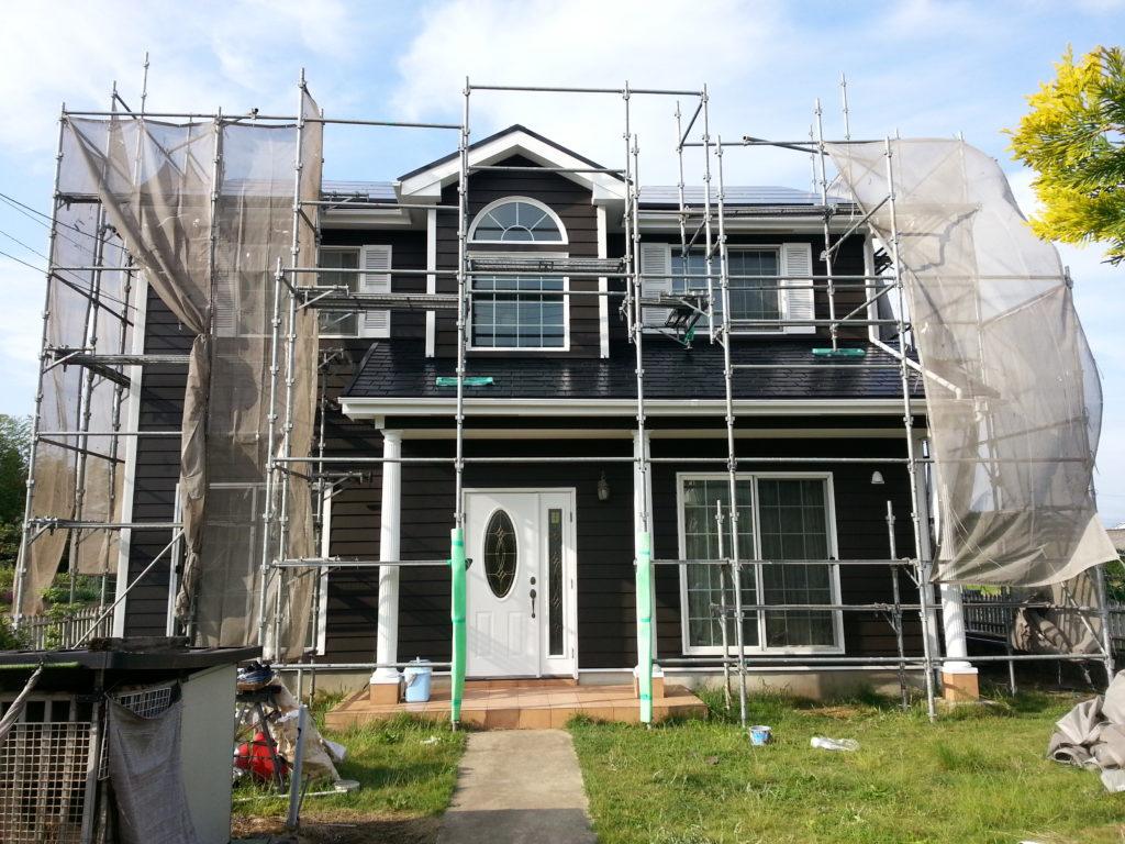 印西市,住宅塗装 (4)