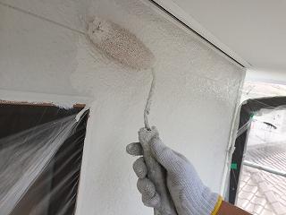 印旛郡酒々井町、外壁塗装 (4)