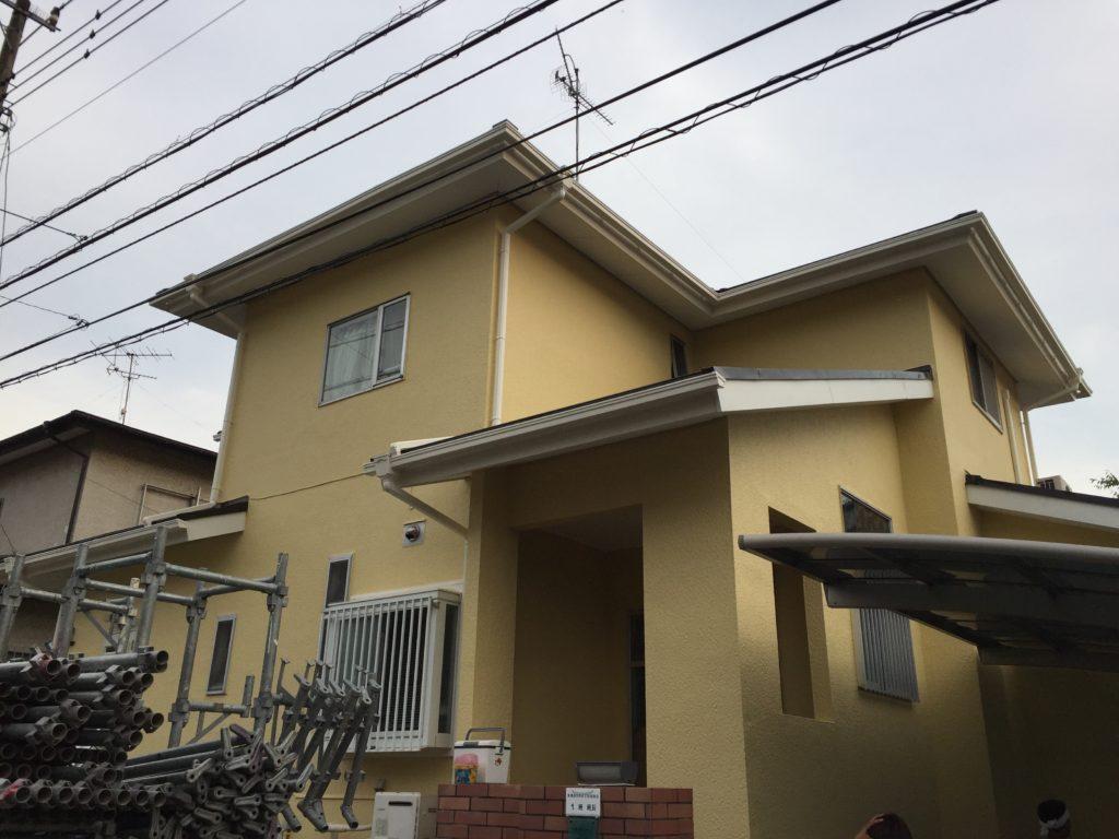 千葉県印旛郡栄町、外壁塗装、屋根塗装 (3)