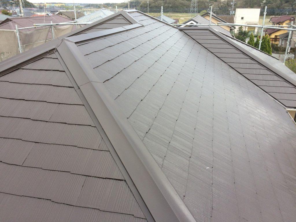 千葉県印旛郡・屋根塗装 (3)