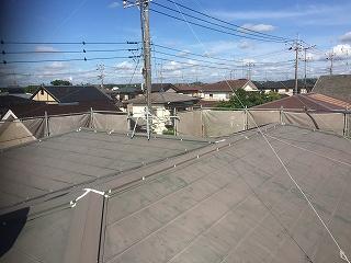 千葉県印旛郡栄町、屋根塗装