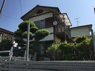 千葉県印西市、外壁塗装、架設足場