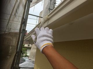 千葉県印旛郡栄町、外壁塗装 (5)