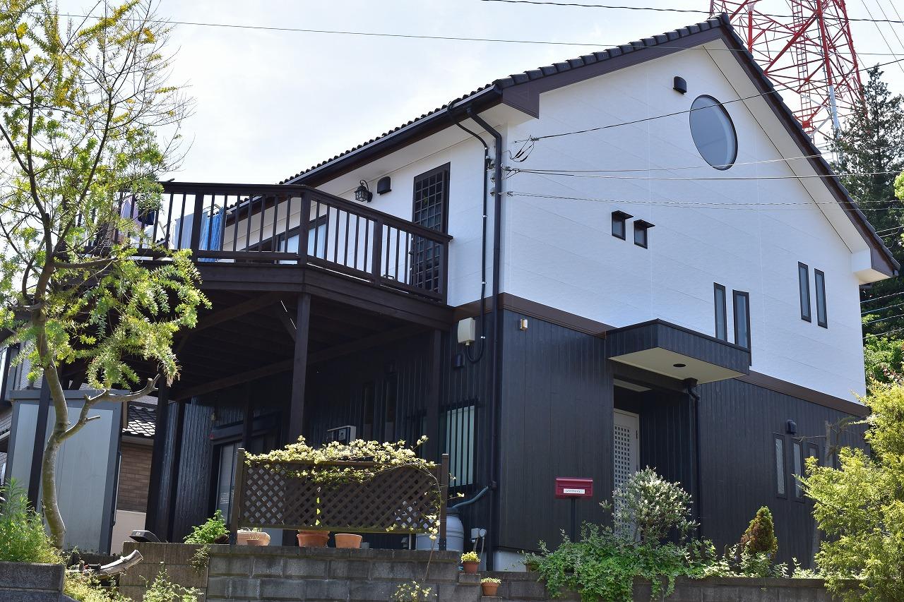 千葉県酒々井町、T様邸、外壁塗装