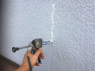 千葉県印旛郡栄町、外壁屋根塗装、ひび割れ (2)