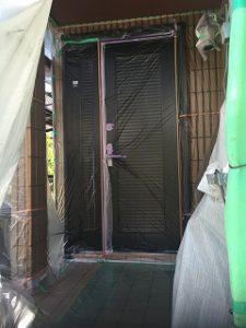 藤江邸玄関ドア