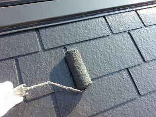 千葉県印西市、屋根塗装 (3)