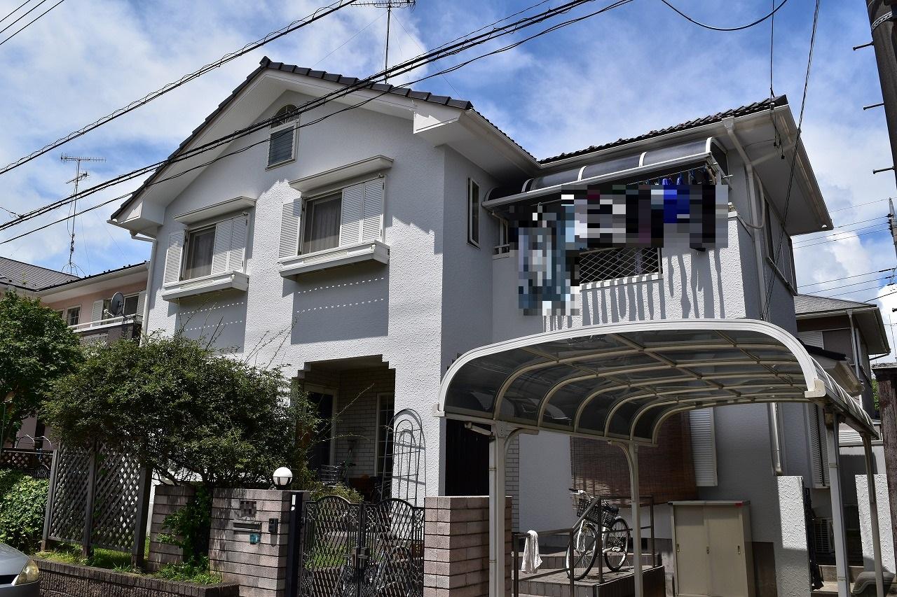 千葉県印旛郡O様邸 外壁塗装工事
