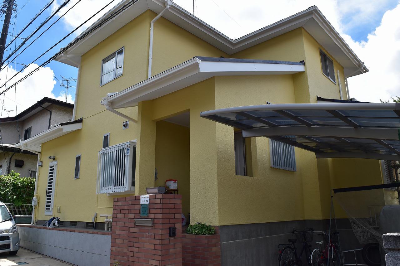 千葉県印旛郡K様邸 外壁塗装・屋根塗装工事