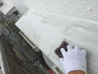 千葉県印旛郡栄町。外壁塗装