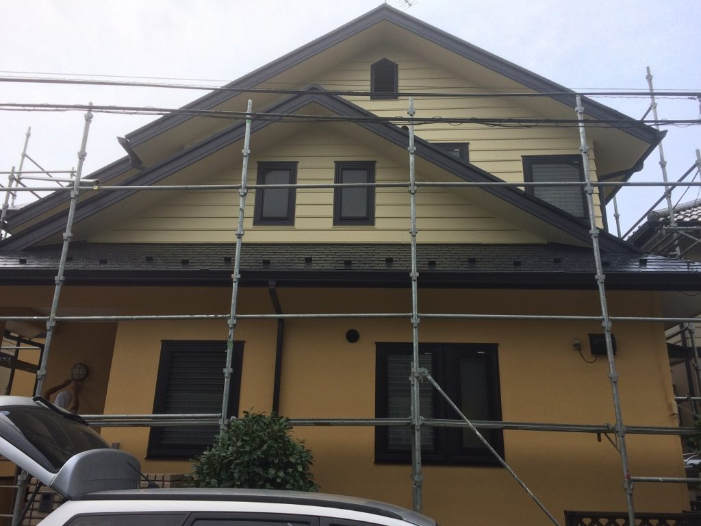 印西市,住宅,塗替え (1)