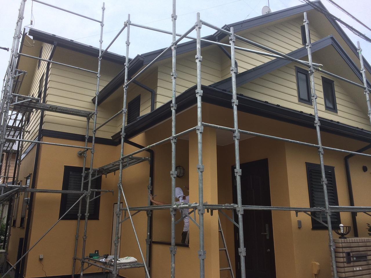 印西市,住宅,塗替え (2)