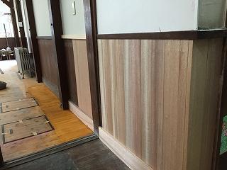 中の木部、塗装 (5)