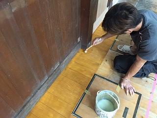 中の木部、塗装 (6)