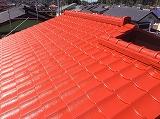 印旛郡栄町、外壁屋根塗装 (2)