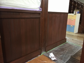 中の木部、塗装 (8)