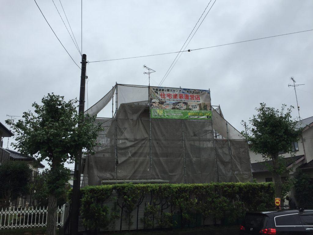 印旛郡、栄町、外壁、屋根塗装 (2)