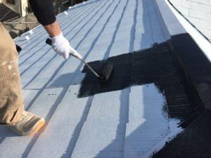 印旛郡栄町、外壁、屋根塗装 (2)