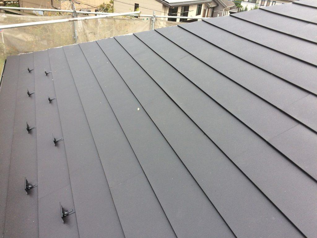 屋根葺き替え工事,カバー工法 (1)