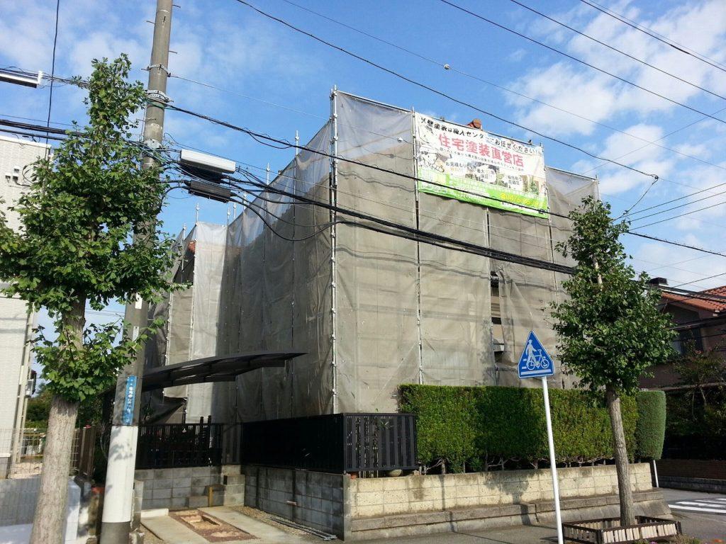 千葉県印旛郡,外壁塗装,リフォーム (4)