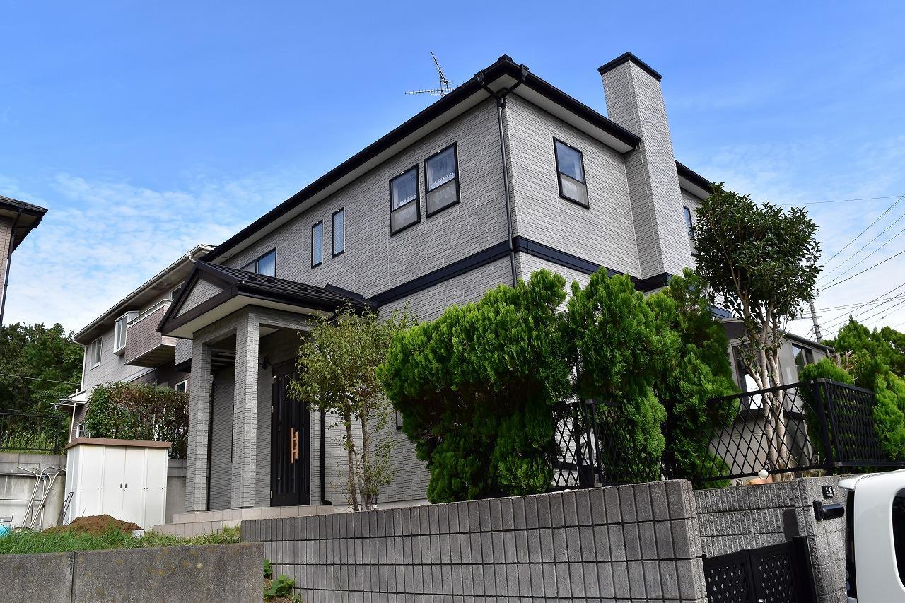 千葉県印旛郡栄町K様邸、外壁塗装工事、屋根カバー工法工事