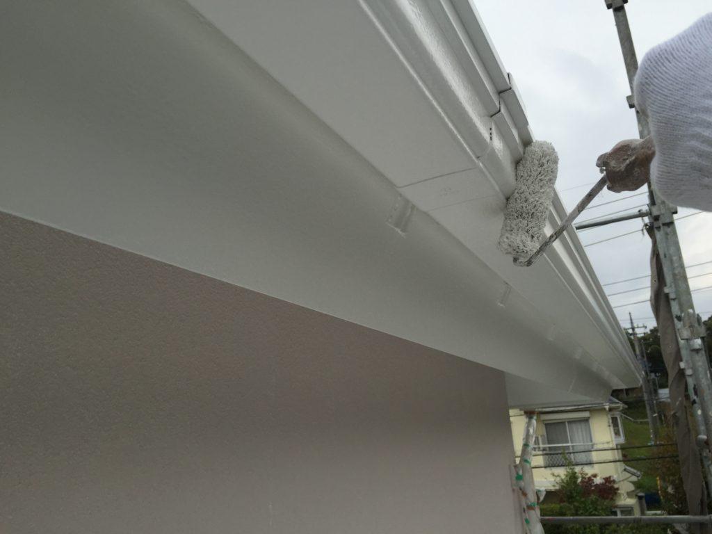 印旛郡栄町、外壁、屋根塗装 (3)
