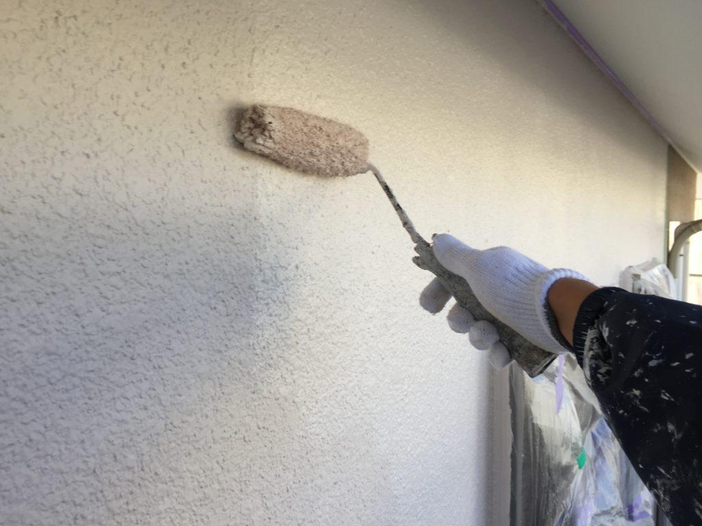 印旛郡栄町、外壁、屋根塗装 (4)