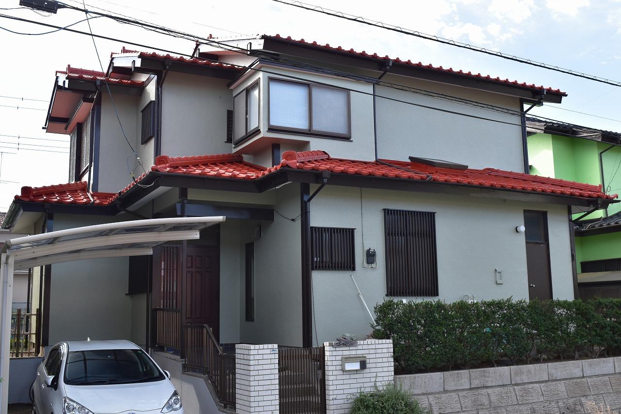 千葉県印旛郡U様邸 外壁塗装・屋根塗装・リフォーム工事が完成しました!