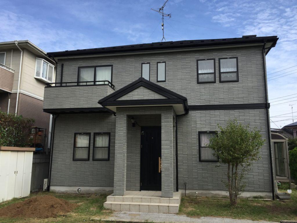 印旛郡栄町、外壁塗装、屋根塗装 (3)