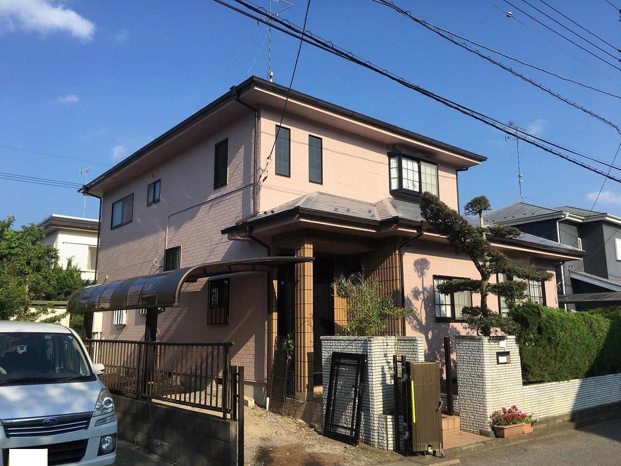 千葉県印旛郡F様邸 外壁塗装・屋根塗装工事が完成しました!