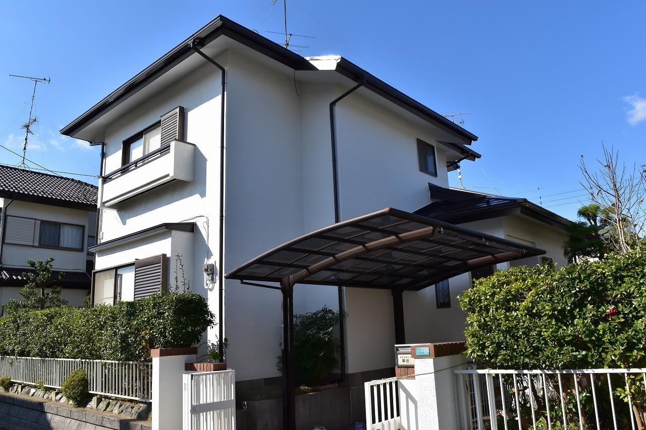 千葉県印旛郡M様邸 外壁塗装・屋根塗装工事が完成しました!