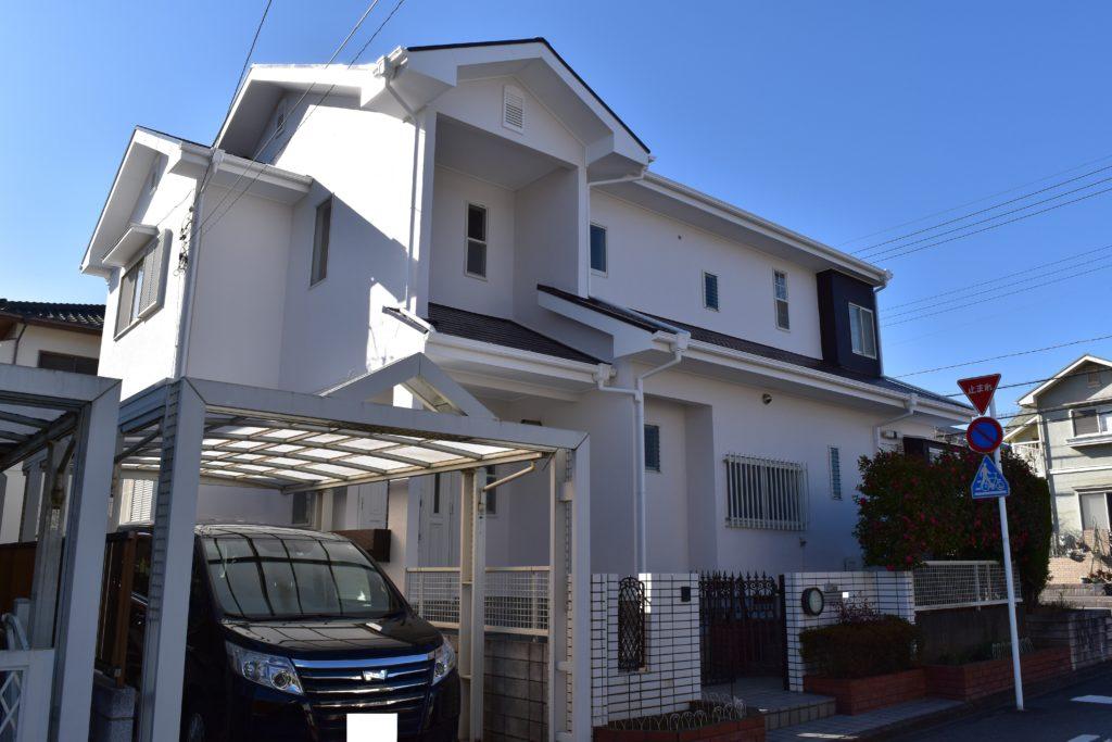 千葉県印旛郡,外壁塗装,塗替え (2)