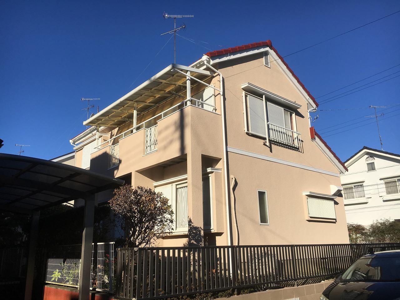 千葉県印旛郡,外壁塗装,塗替え (27)