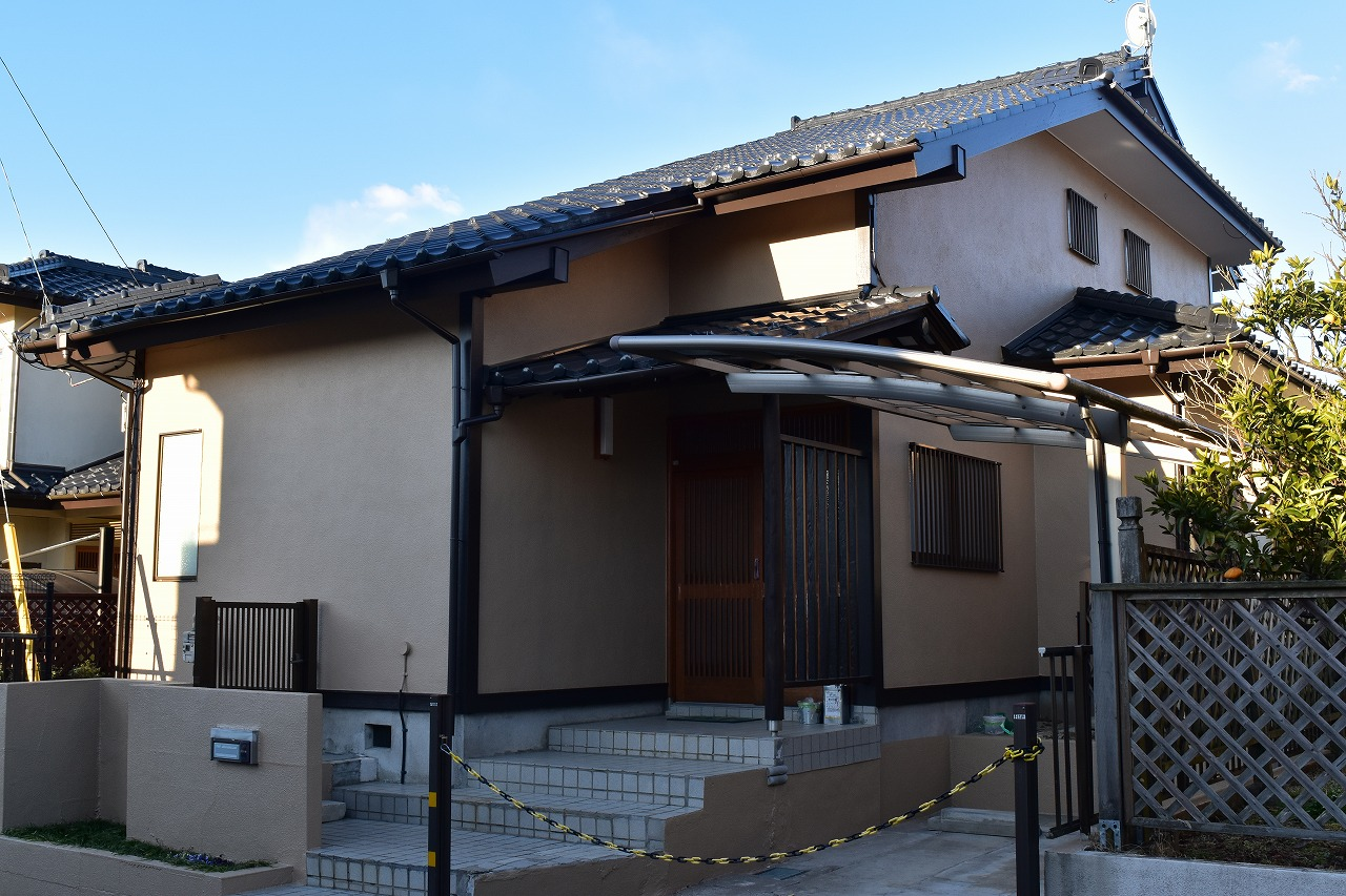 千葉県印旛郡I様邸 外壁塗装・屋根塗装工事が完成しました!