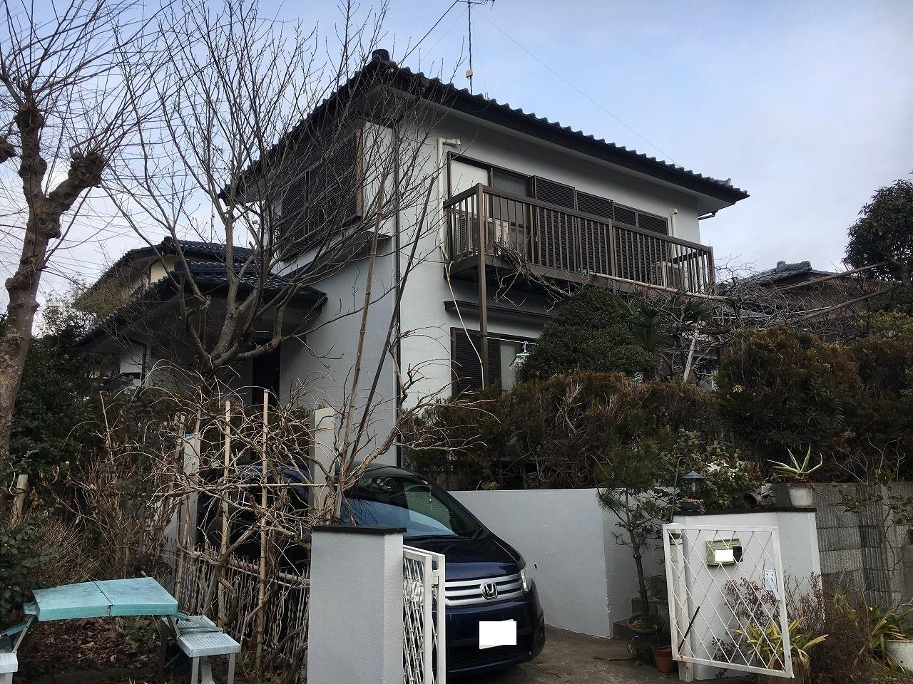 千葉県印旛郡H様邸 外壁塗装・屋根塗装工事が完了しました!