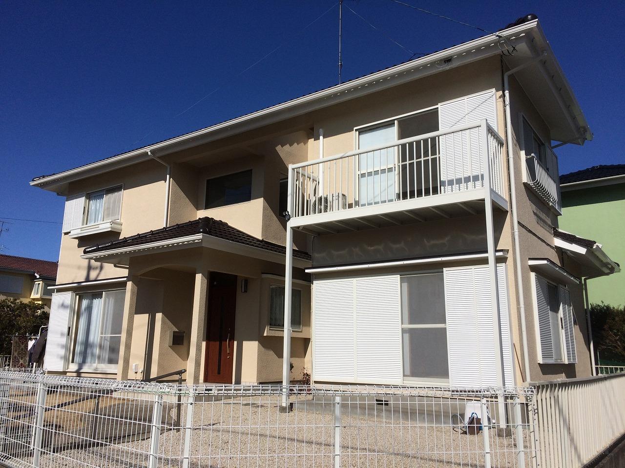 千葉県印旛郡S様邸 外壁塗装・屋根塗装工事が完成しました!