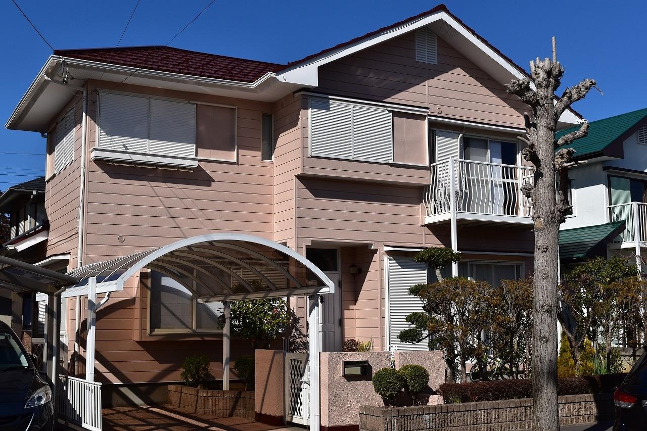 千葉県印旛郡H様邸 外壁塗装・屋根塗装工事が完成しました!